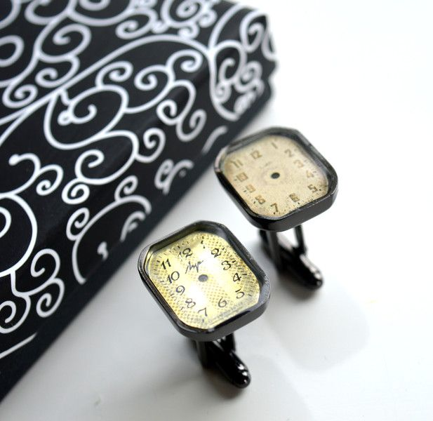Cufflinks –  Cufflinks for man – a unique product by creative-designer on DaWanda
