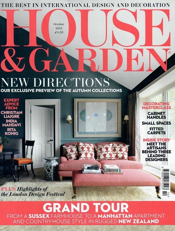 House & Garden - October 2015 - Beaumont & Fletcher luxury handmade…