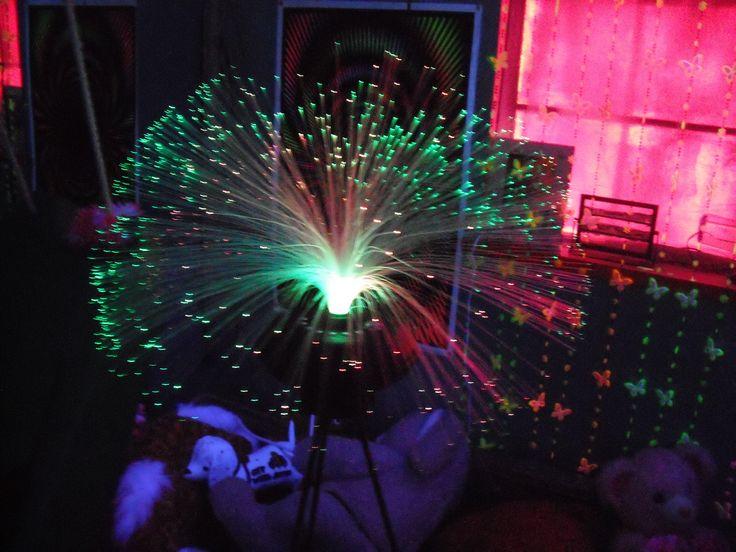 Sensory Room Optic Lights Emily S Things Pinterest