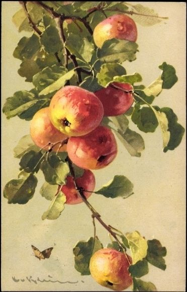 Another incredible painting of fruit by this great German artist.