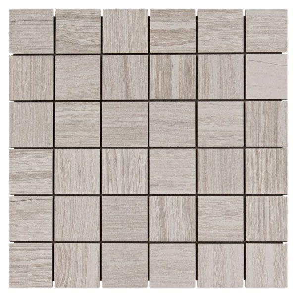 Eramosa white mosaic porcelain tile bathroom ideas for Happy floors valencia grey