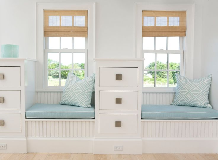 window seats|lynnmorgandesignDecor, Ideas, Beach House, Bedrooms Storage, Windows Seats, Reading Nooks, Shared Bedrooms, Window Seats, Design