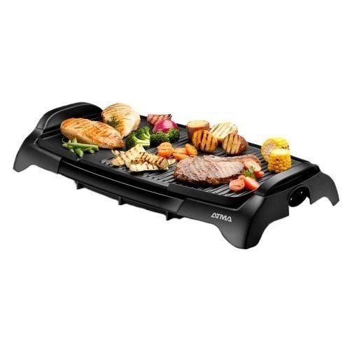 nuevo grill/parrilla electrica atma pg4731 5 niveles de temp