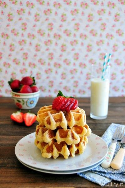 uTry.it: Basic Waffles Recipe…and Welcome to Our Home, Alic...