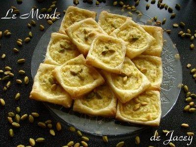 Puddingteilchen arabisch - Le Monde de Jacey - Tunesische Küche