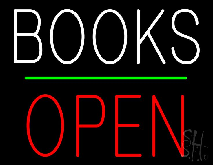 Books Block Open Green Line Neon Sign 24 Tall x 31 Wide x 3 Deep, is 100% Handcrafted with Real Glass Tube Neon Sign. !!! Made in USA !!!  Colors on the sign are Green, White and Red. Books Block Open Green Line Neon Sign is high impact, eye catching, real glass tube neon sign. This characteristic glow can attract customers like nothing else, virtually burning your identity into the minds of potential and future customers.