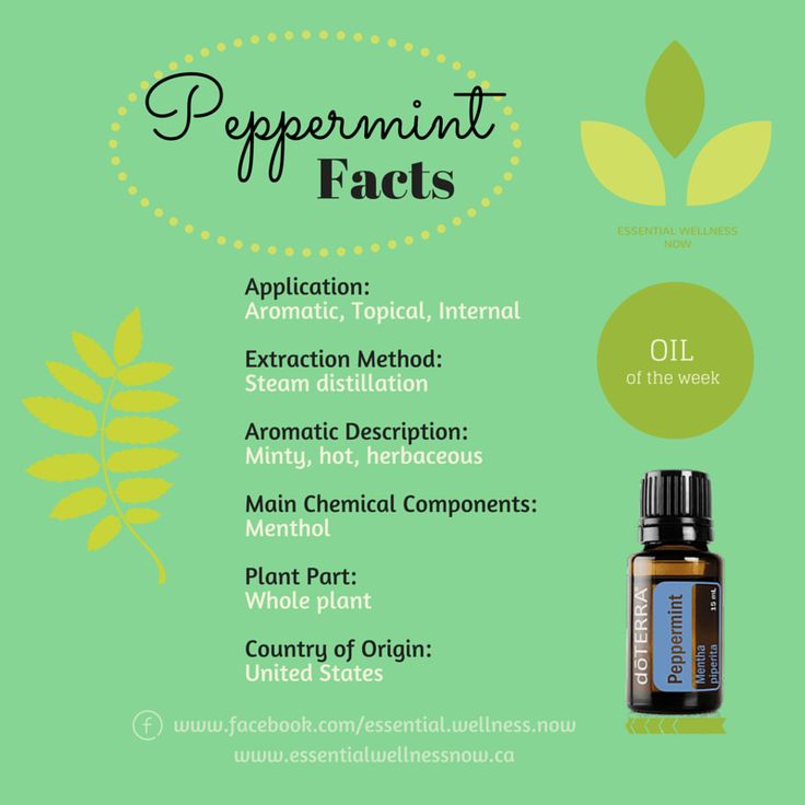 Peppermint Essential Oil  Health & wellness doterra