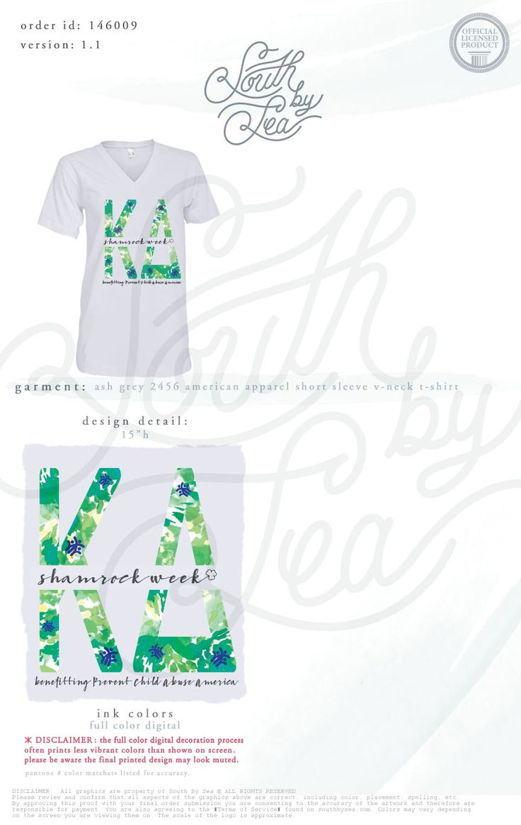 Kappa Delta | KD | Shamrock Week | Philanthropy Tee | Tie Dye Design | Floral Design | South by Sea | Greek Tee Shirts | Greek Tank Tops | Custom Apparel Design | Custom Greek Apparel | Sorority Tee Shirts | Sorority Tanks | Sorority Shirt Designs