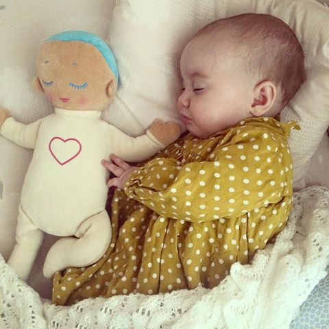 I must have one of these for Annabelle!!! Lulla doll in good companion - lovely photo from Toby & Roo