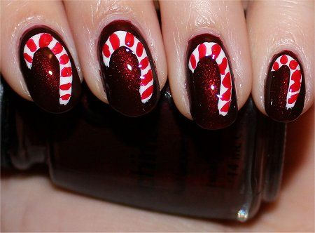 29 Creative Christmas Nail Designs ‹ ALL FOR FASHION DESIGN