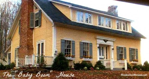 Diane Keaton's yellow house in the movie Baby Boom