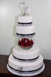 Fake Rental Wedding Cake