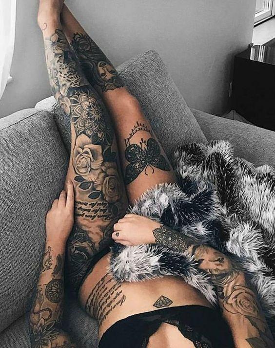 Tattoo Girl sexy