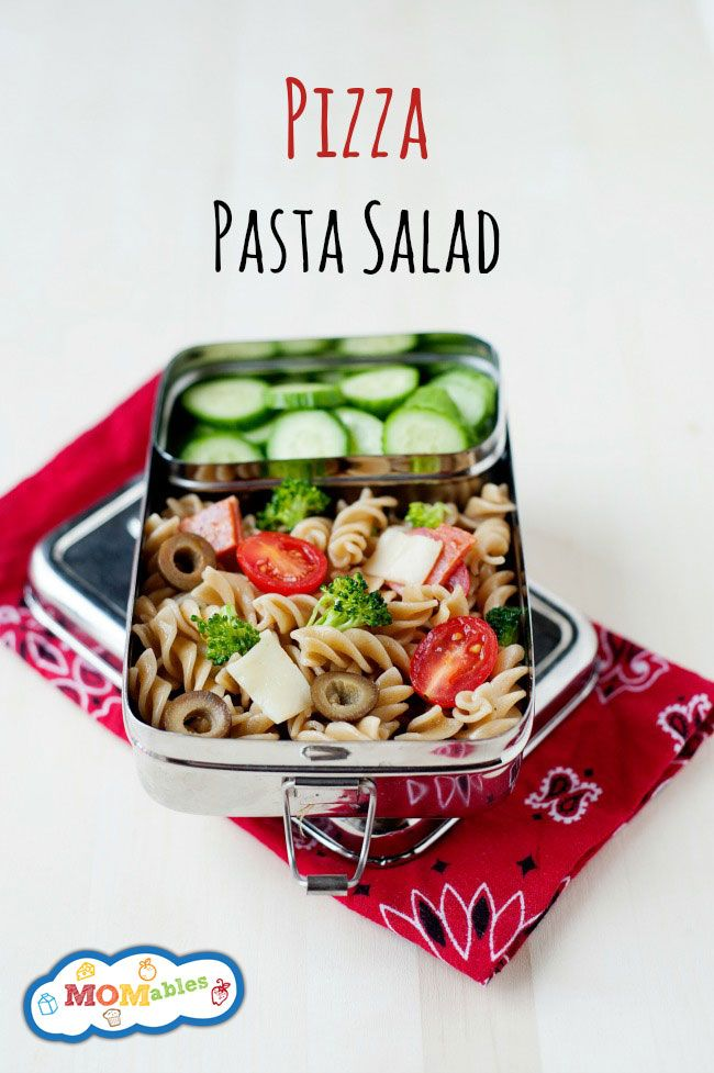 73 best easy recipe quick videos images on pinterest easy cooking easy school lunch idea pizza pasta salad quick to assemble and you can customize forumfinder Image collections