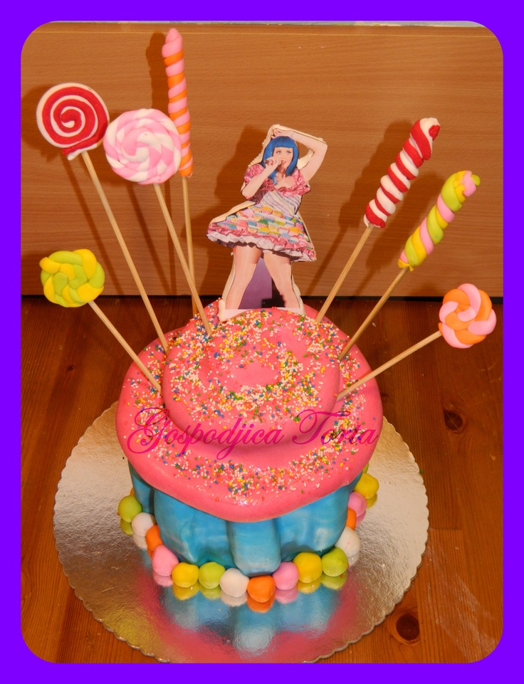 Decorating Ideas > Katy Perry Cake  Cakes  Gospodjica Torta  Pinterest  ~ 095229_Birthday Party Ideas Katy Tx