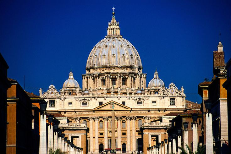 old st peters basilica theory write up