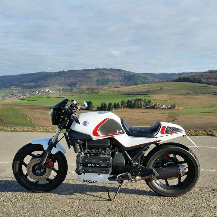 Favori Arnim Schmalz' BMW K Series café racer | BMW K Series Kafé Racers  VF64