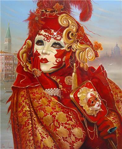 Alex Levine, Venice Mask