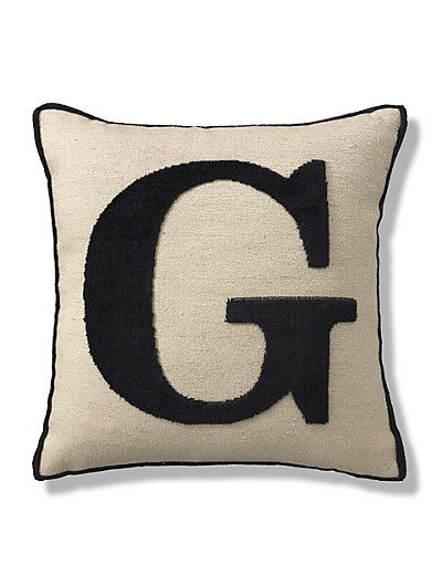 17 best images about living room on pinterest chunky for Letter m cushion