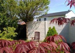 Marvelous Betonzaun Standard Fels KOWALEWSKI Zaun Garten Sichtschutz Schallschutz