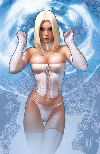 Marvel Emma Frost by Adam Hughes MT