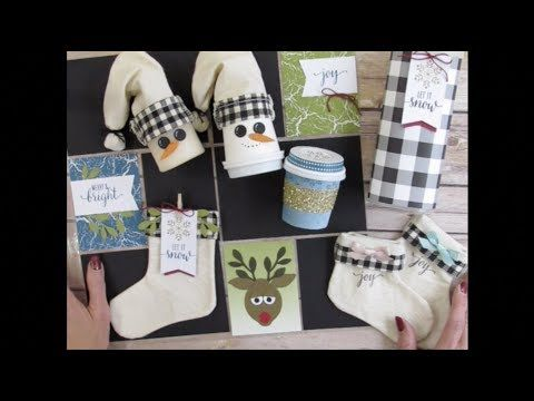 Back In Plaid November 2017 Paper Pumpkin Kit Alternate Ideas Part 1 - Stamp Your Art Out!