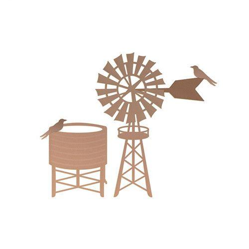 Ultimate Crafts Dies Windmill & Water Tank - Australiana Dies 2