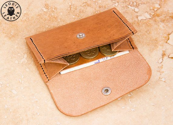 Build Along Leather Pattern 5: Compact by LeodisLeather on Etsy