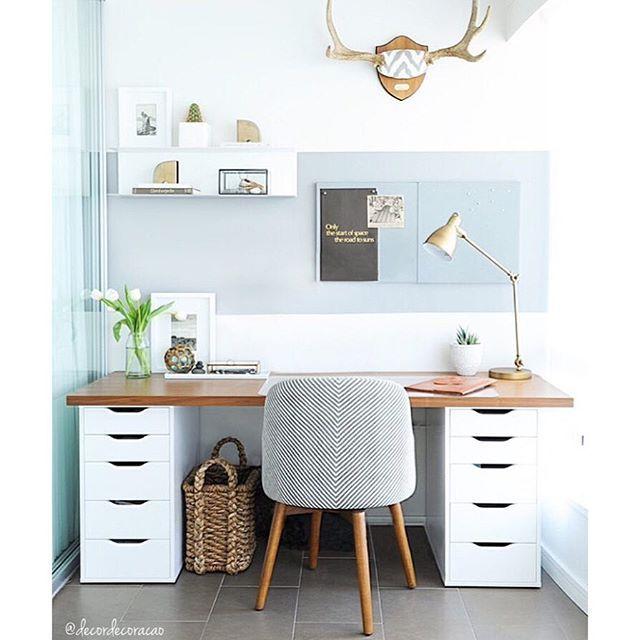 Decoração de ❤️ @decordecoracao Home office para ...Instagram photo | Websta (Webstagram)