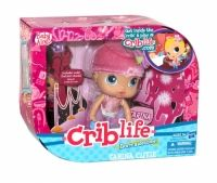 Baby Alive Friendship Crib Life Doll Sarina Cutie Sarina Cutie doll likes princesses, ballerinas and all things pink just like you! Right now, this sweet girl is dressed for a party. Take her along to meet some of your friends, or get her together with some of her own friends (sold separately).