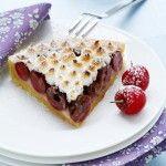 Crostata di ciliegie con crema frangipane
