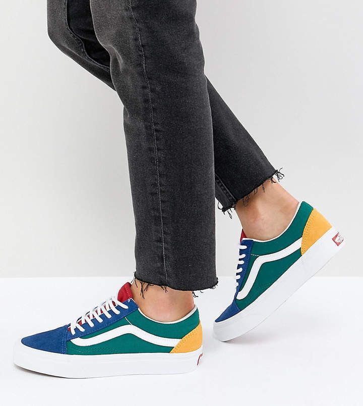 c486f9089ea Old Skool Sneaker In Primary Color Block  tread Famed iconic