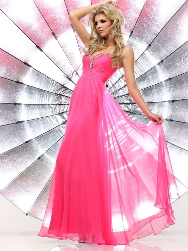 Mejores 30 imágenes de Hot Pink Prom Dresses en Pinterest | Vestidos ...