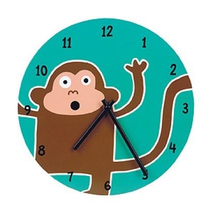 Mudpuppy Monkey Wall Clock