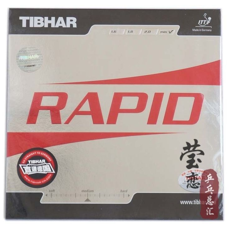 Original Tibhar RAPID pimples in table tennis rubber table tennis rackets racquet sports fast attack loop made in germany