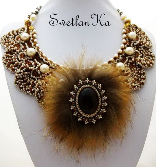Beautiful and original jewelry with fur | Beads Magic#more-7584