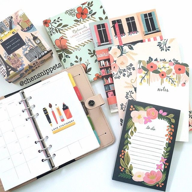 Pretty stationery from Rifle Paper Co.