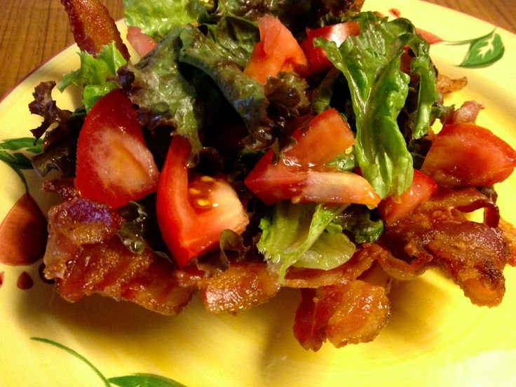From Pasta to Paleo: Bacon Bowl BLT's