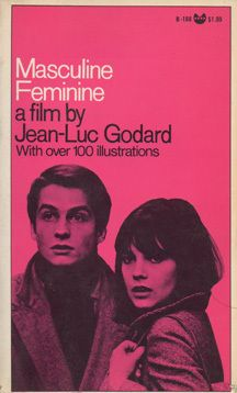 Masculine Feminine a film by Jean-Luc Godard.  Starring Jean-Pierre Léaud. French 1966.