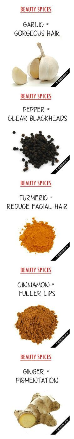 TOP SPICES FOR HEALTHY SKIN AND HAIR