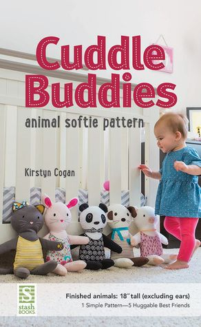 Stitch 5 adorable animal stuffies—a puppy, panda, piggy, rabbit, and kitty—from one basic pattern. Embroider with hand stitching and easy felt appliqué, with full-size pattern pieces included.