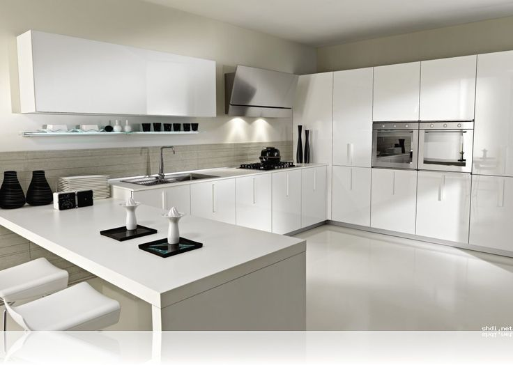 Kitchen Design 2014 modern white kitchen design and