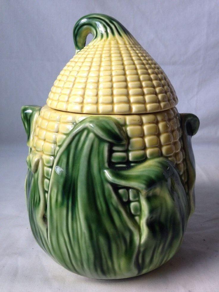 Vintage Stanfordware Corn Cookie Jar 512