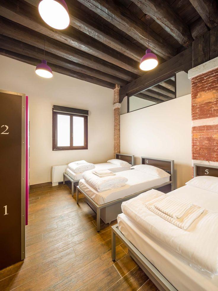 Shared Room At Generator Hostel Venice