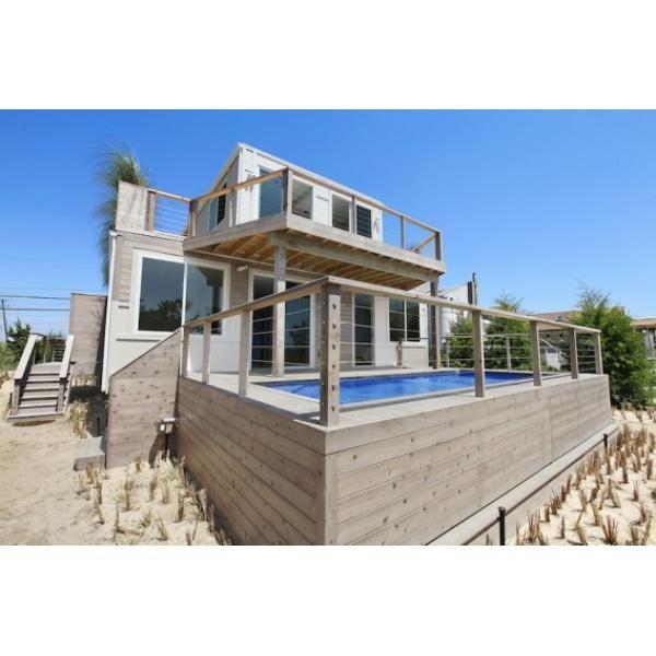 Casa de playa hamptons estados unidos arquitectura en for Arquitectura contenedores maritimos