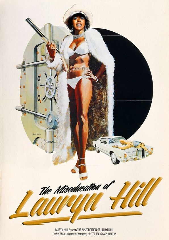 The Miseducation Of Lauryn Hill MusiXploitation by Ads Libitum : shop / facebook / tumblr / portfolio
