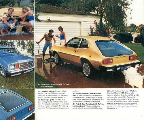 Ford Pinto Sedans And Ford: 831 Best American Classics