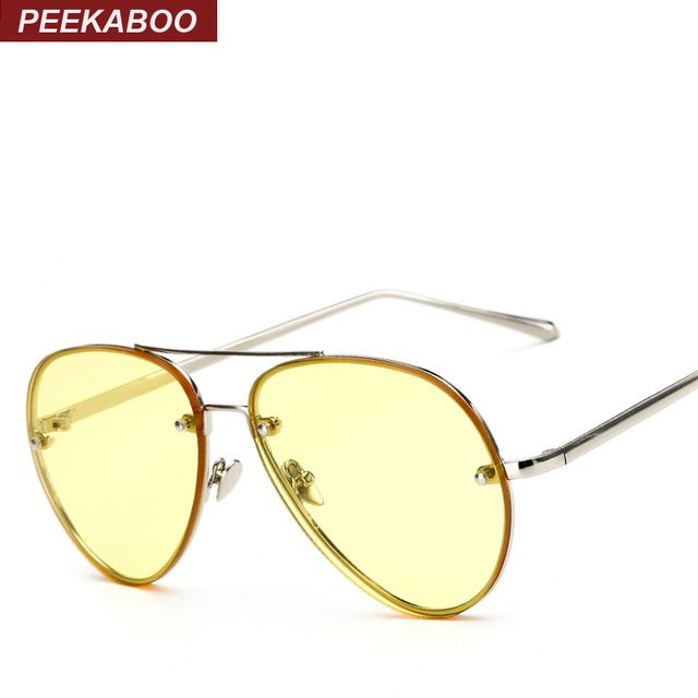 Moderne Cadre Polygon Mode Full Metal Lens Sunglasses couleur, noir