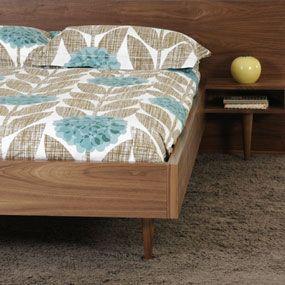 Orla Kiely Bedding Flower Blossom Bedding in Teal Dotmaison - Stylehive