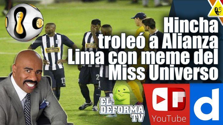Hincha de Universitario de Deportes troleó a Alianza Lima con meme del M...